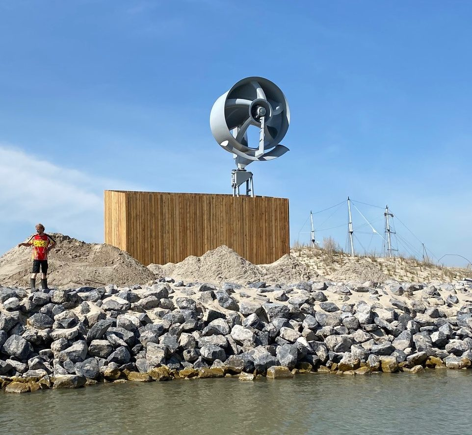 Onzichtbare Windturbine